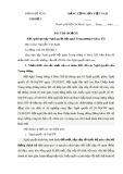 Bài thu hoạch Kết quả học tập Nghị quyết hội nghị Trung ương 6 khóa XII