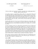 Nghị quyết số 08-NQ/TW năm 2011