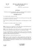 Quyết định số 4420/QĐ-BYT