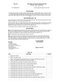 Quyết định số 3459/QĐ-BYT