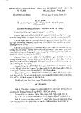 Quyết định số 459/QĐ-LĐTBXH