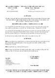 Quyết định số 812/QĐ-BLĐTBXH
