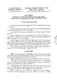 Quyết định số 17/2015/QĐ-UBND Tỉnh Thừa Thiên Huế