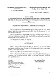 Quyết định số 2818/QĐ-BVHTTDL