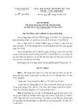 Quyết định số 75/QĐ-UBDT