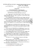 Quyết định số 2151/QĐ-BVHTTDL