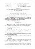 Quyết định số 467/QĐ-UBDT