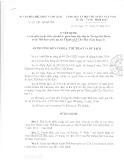 Quyết định số 237/QĐ-BVHTTDL