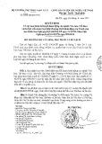 Quyết định số 2850/QĐ-BVHTTDL