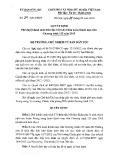 Quyết định số 74/QĐ-UBDT