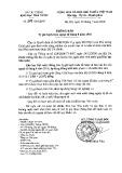 Thông báo số 3378/TB-KBNN