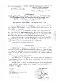Quyết định số 1464/QĐ-BVHTTDL