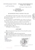 Quyết định số 950/QĐ-BVHTTDL