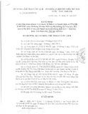 Quyết định số 234/QĐ-BVHTTDL