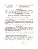 Quyết định số 227/QĐ-BVHTTDL