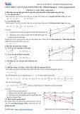 Công thức Vật lý Đại cương phần III