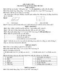 Bài tập tiếng Việt và Toán lớp 2 tuần 6