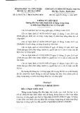 Thông tư liên tịch số 21/2015/TTLT-BKHCN-BNV-BTC