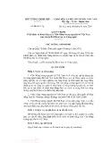 Quyết định số 30/QĐ-TTg năm 2016