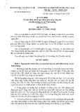 Quyết định số 850/QĐ-BKHCN