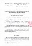 Quyết định 4236/QĐ-BCT