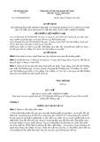 Quyết định số 1273/2004/QĐ-BTM