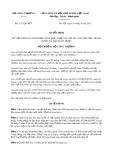 Quyết định số 3117/QĐ-BCT