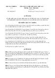 Quyết định số 438/QĐ-BCT