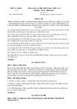 Thông tư số 31/2014/TT-BTC