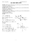 Bài tập Thấu kính Vật lí lớp 9