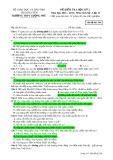 Đề kiểm tra HK 2 môn Lịchsử lớp 12 năm 2016-2017 - THPT Lương Phú - Mã đề 566