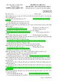 Đề kiểm tra HK 2 môn Lịchsử lớp 12 năm 2016-2017 - THPT Lương Phú - Mã đề 561