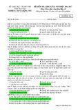 Đề kiểm tra HK 2 môn GDCD lớp 12 năm 2016-2017 - THPT Lương Phú - Mã đề 566