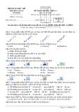 Đề thi lý thuyết bảng A môn Tin học tỉnh Kiên Giang năm 2015 - Mã đề 357