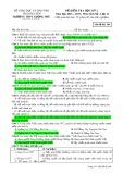Đề kiểm tra HK 2 môn Lịchsử lớp 12 năm 2016-2017 - THPT Lương Phú - Mã đề 564