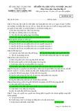 Đề kiểm tra HK 2 môn GDCD lớp 12 năm 2016-2017 - THPT Lương Phú - Mã đề 568