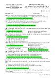 Đề kiểm tra HK 2 môn Lịchsử lớp 12 năm 2016-2017 - THPT Lương Phú - Mã đề 568