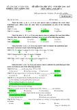Đề kiểm tra HK 2 môn tiếng Anh lớp 12 năm 2016-2017 - THPT Lương Phú - Mã đề 209