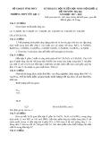 Đề thi KSCL tuyển chọn HSG lớp 12 môn Hóa học năm 2017-2018 - THPT Yên Lạc