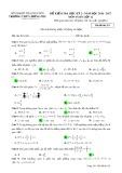 Đề kiểm tra HK 2 môn Toán lớp 12 năm 2016-2017 - THPT Lương Phú - Mã đề 251
