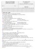 Đề kiểm tra 1 tiết môn Vật lí lớp 10 - THPT An Phước - Mã đề 406