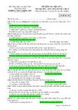 Đề kiểm tra HK 2 môn Lịchsử lớp 12 năm 2016-2017 - THPT Lương Phú - Mã đề 565
