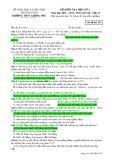 Đề kiểm tra HK 2 môn Lịchsử lớp 12 năm 2016-2017 - THPT Lương Phú - Mã đề 563