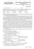 Đề thi khảo sát chất lượng lần 1 môn tiếng Anh lớp 10 - THPT Đồng Đậu - Mã đề 270