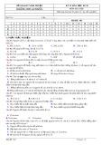 Đề kiểm tra 1 tiết môn Hóa học lớp 10 - THPT An Phước - Mã đề 503