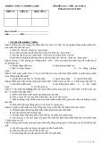 Đề kiểm tra 1 tiết môn Lịch sử lớp 12 - THPT Lý Thường Kiệt - Mã đề 102