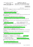 Đề kiểm tra HK 2 môn Lịchsử lớp 12 năm 2016-2017 - THPT Lương Phú - Mã đề 562