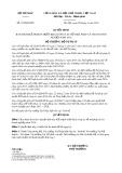Quyết định số 635/QĐ-BTP