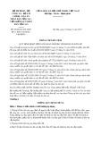 Thông tư liên tịch số 05/2016/TTLT-BTP-BCA- BTC-TANDTC-VKSNDTC