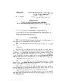 Nghị quyết số 21/NQ-CP năm 2016
